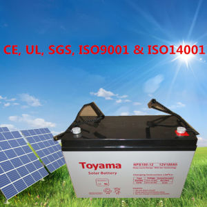 12VDC 100ah Deep-Cycle 100ah Deep Cycle AGM Battery with 5-Year Warranty pictures & photos