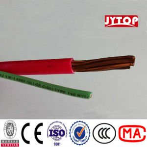 Thhn Wraped Red PVC Jacket Wire 600V for UL Standard pictures & photos
