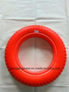 Solid PU Foam Wheel, Wheelbarrow Tire 3.00-8 13X3 pictures & photos
