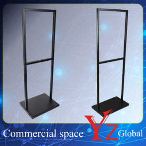 Poster Stand (YZ161502) Display Stand Sign Board Exhibition Stand Promotion Poster Frame Banner Stand Poster Board Store Stand Stainless Steel pictures & photos