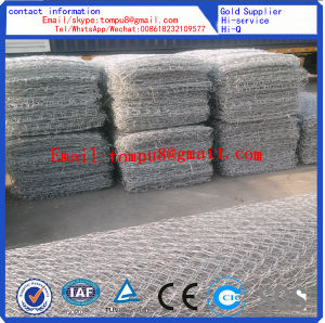 Buy Galvanized Gabion Box /PVC Coated Gabion Basket / Reno Mattress pictures & photos