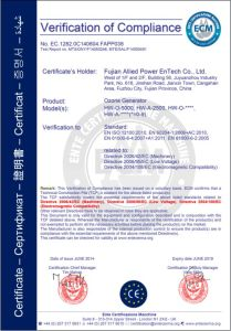 10g/H to 50kg/H Ozone Generator Manufacturer pictures & photos