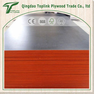 Poplar Red Waterproof Marine Plywood pictures & photos