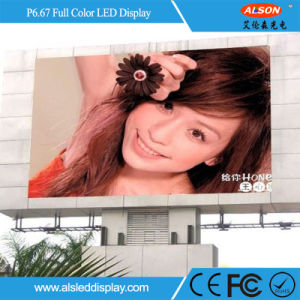 Outdoor HD P6.67 Full Color LED Sign Board for Advertising pictures & photos
