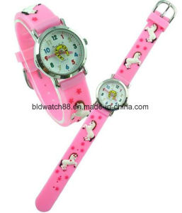 Promotion Analog Kids Cartoon Watch for Gift pictures & photos
