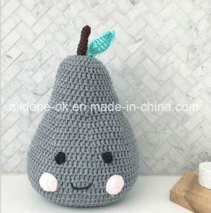 Hand Crocheted Pillow Cushion Fruit Doll Children Room Decoration Toy Gift pictures & photos