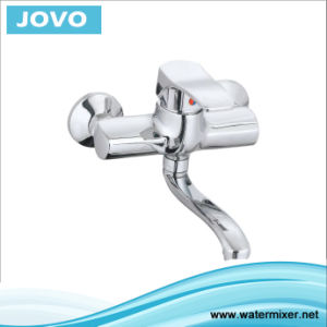 Single Handle Wall-Mounted Kitchen Tap Jv 73106 pictures & photos