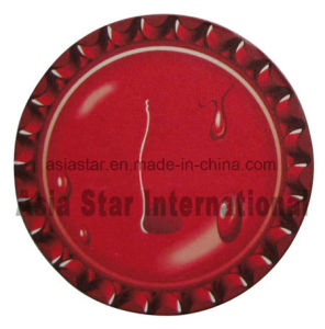 Red Round Water Drop Cardboard Coaster (CB01) pictures & photos