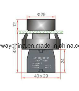 La118kb Series Pushbutton Switch pictures & photos