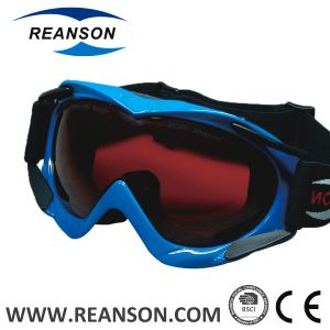 Reanson Anti-Fog Double Spherical Lenses Snow Skiing Goggles pictures & photos