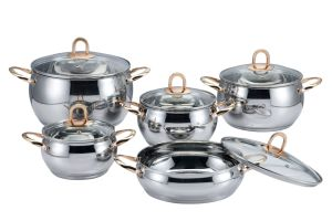 10 PCS Apple Cookware Set pictures & photos