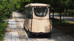 Rain Hood 8 Passenger Electric Golf Cart Made by Excar pictures & photos