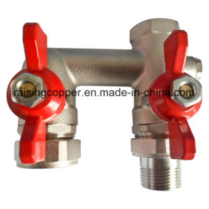 by Pass Brass Ball Valve pictures & photos