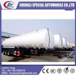 Customized 3 Axles Q235B Oil Fuel Tank Semi Trailer Manufacture pictures & photos