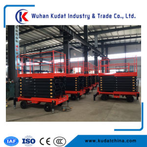 9m Mobile Scissor Lift (With CE) (KDSJY0.3-9) pictures & photos