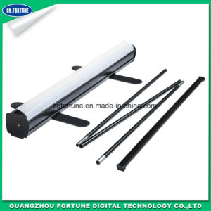 Black Color Aluminum Roll up Display Stand pictures & photos