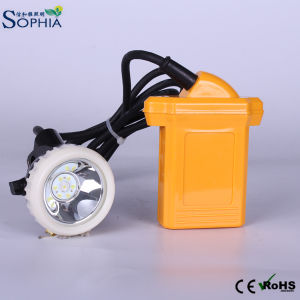 Explosive Proof Mining Hard Hat Lamp with 4.2ah Li-ion Battery pictures & photos