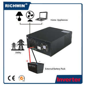 1.8kVA High Frequency Modified Sine Wave off Grid Power Inverter pictures & photos