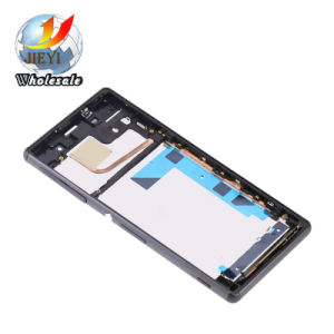 Display LCD Touch Screen for Sony Xperia Z3 D6603 D6643 D6653 Bianco Con Frame pictures & photos
