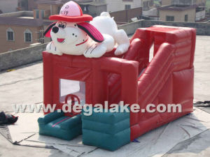 Inflatable Dog Bounce Slide Combo Bouncy Castle for Children pictures & photos