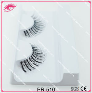 Popular False Eyelashes Human Hair Lash Wholesale pictures & photos