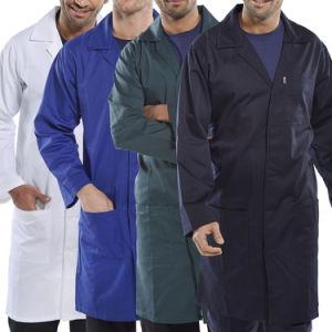 Doctor Uniform Fashion Design Men′s Lab Coat (A633) pictures & photos
