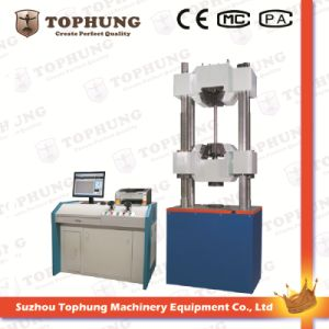 High Quality Computer Controlled Electro-Hydraulic Servo Testing Machine pictures & photos