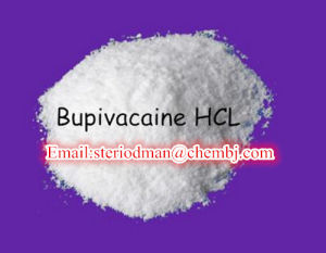 Local Anesthetic 99% Purity Bupivacaine HCl Popular Pharmaceutical Raw Materials pictures & photos