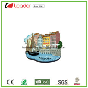 Resin 3D Building Refrigerator Magnet for Home Decoration and Promotion Gifts pictures & photos