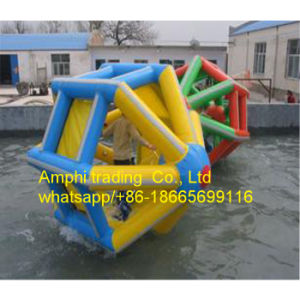 Entertainment Inflatable Water Walking Wheel for Sale/Giant Roller Water/Ball