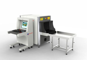 X ray baggage scanner AT6040 X-ray secuirty scanner with CE&ISO for Mall use pictures & photos