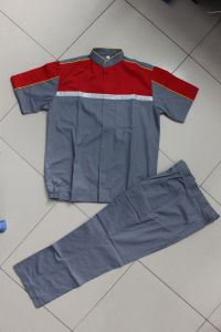T/C Brushed Jacket and Pant, Working Suit with Reflective Tapes pictures & photos