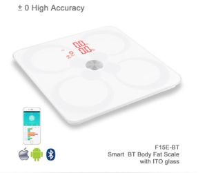 New Slim LCD Digital Display Electronic Glass Bathroom Scale pictures & photos