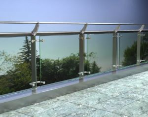 Stainless Steel Glass Balustrade Handrail Railing pictures & photos