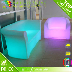 LED Modern Living Room Sofa Set for Bar Nightclub Garden pictures & photos