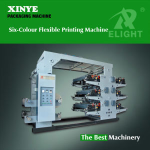 PE Film Six Colour Printing Machine pictures & photos