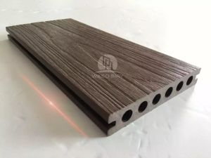 More Stable New Product Wood Plastic Composite Co-Extrusion Decking pictures & photos