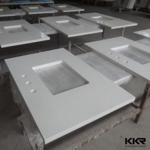 Customize Kitchen Man Made Quartz Stone Countertops pictures & photos