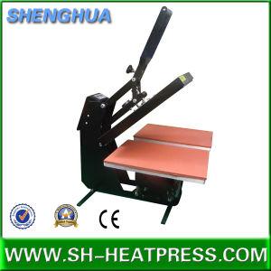 Hot Sale Double Plate Semi Auto T-Shirt Heat Press Machine for Sale pictures & photos