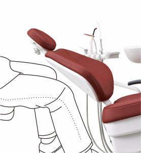 Multifuction Dental Chair with Intelligent Spittoon Disinfection pictures & photos