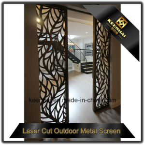 Interior Laser Cut Decorative Aluminum Screen Door pictures & photos