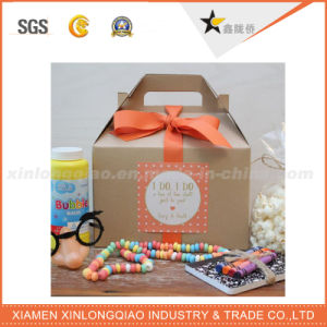 High Quality Safe Food Grade Kraft Paper Box for Food pictures & photos