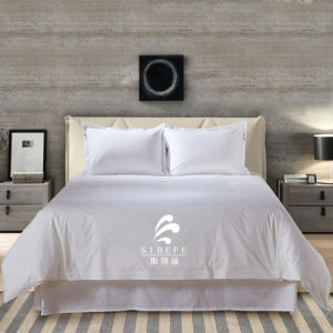 Luxury Comfortable 100% Cotton Hotel Bed Sheet Bedding Set pictures & photos