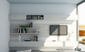 Modern White Color Wood TV Cabinet Table pictures & photos
