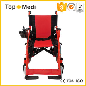 New Hot Sale Medical Product Disabled Folding Power Electric Wheel Chair Cheapest pictures & photos