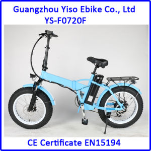 20 Inch Folding Electric Bike 4.0 Tire pictures & photos