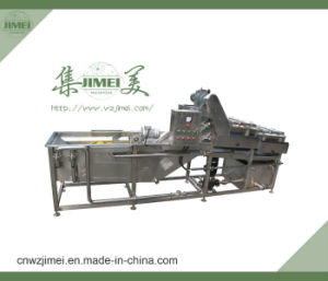 High Quality Field Mushroom Processing Machine with Washing and Blanching etc pictures & photos