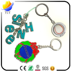 Good Looking Alphabet Combination Metal Key Rings and Rugby Shpae Metal Key Chain pictures & photos