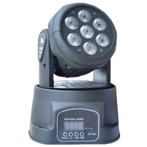 Guangzhou Popular Nice 7PCS*12W 4in1 LED Moving Head Light pictures & photos