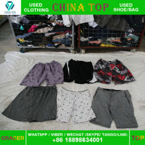 Offer Top Quality Fashion Used Clothes Man Nickers with Cheap Price pictures & photos